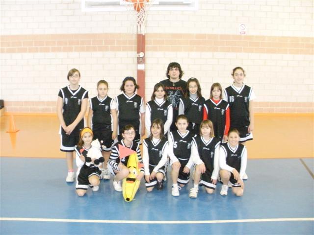 equipo alevin femenino